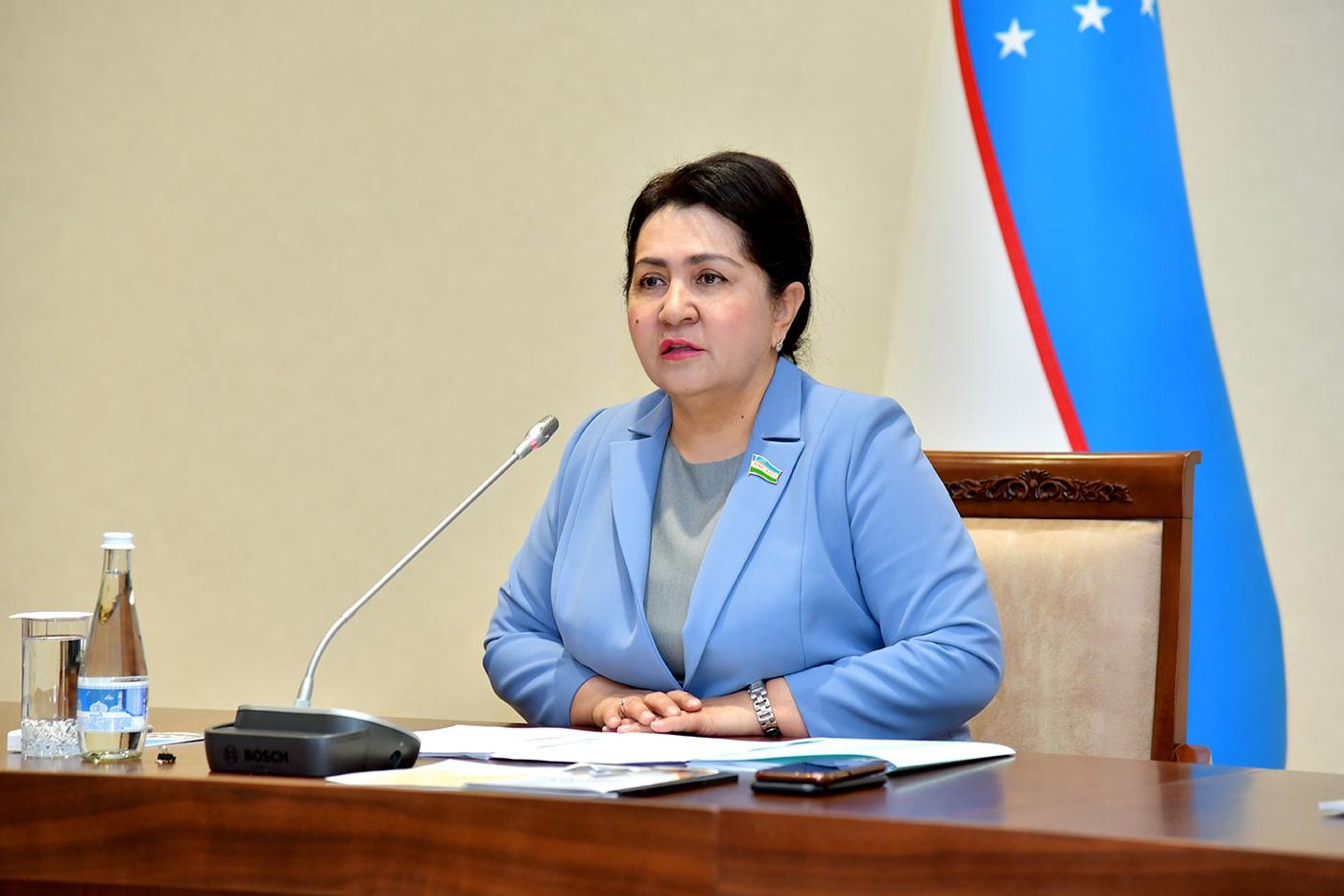 Tanzila Narbayeva: Z více než 7 milionů domácností v Uzbekistánu je asi 300 000 v nouzi