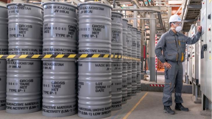 Kazatomprom rozšiřuje omezení výroby uranu do roku 2022