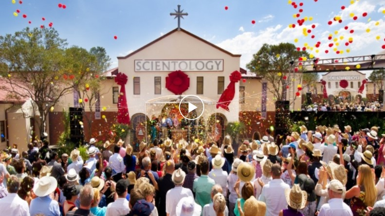 video Slavnostního otevření Scientologické církve v Jížní Africe organizace Pretoria ze dne 23. února 2013