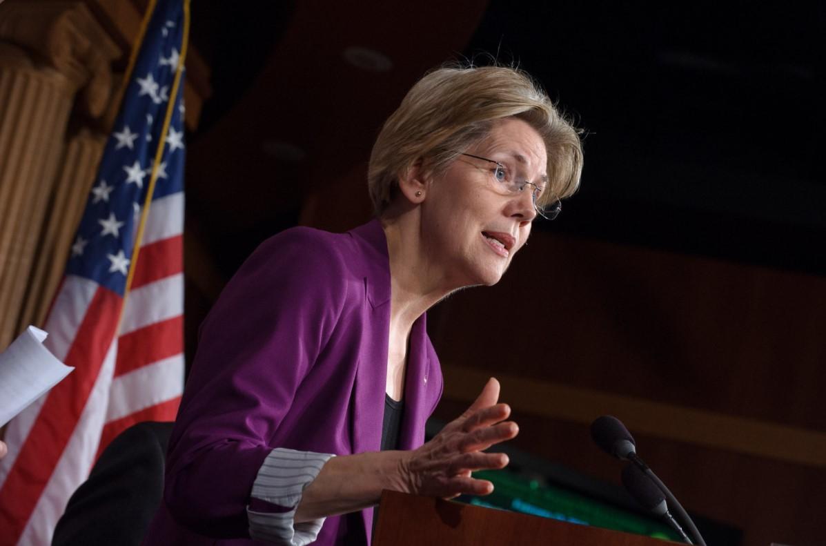Senátorka Spojených států Elizabeth Warren